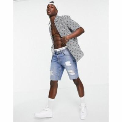 ヒューゴ ボス BOSS メンズ 半袖シャツ トップス Business Luka Short Sleeve Shirt ブルー
