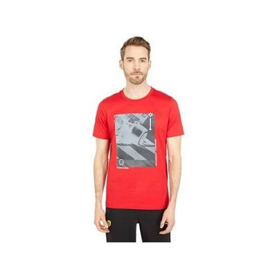 プーマ Ferrari Race Graphic Tee メンズ シャツ トップス Rosso Corsa