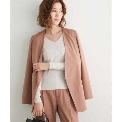 ROPE' PICNIC / 【セットアップ対応】ベルテッドジャケット WOMEN ジャケット/アウター > テーラードジャケット