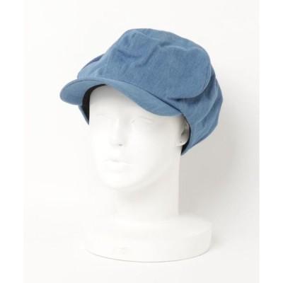 帽子 キャスケット :デニムキャスケット