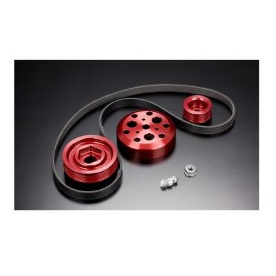 戸田レーシング HONDA S2000 AP1/2 F20C/F22C 軽量フロントプーリーKIT エアコン付き 13810-F20-HAC