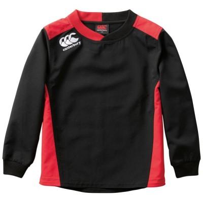 カンタベリー ラグビー トレーニングジャケット ジュニア プラクティス プルオーバー ブラック 19 CB-RGJ70016-19