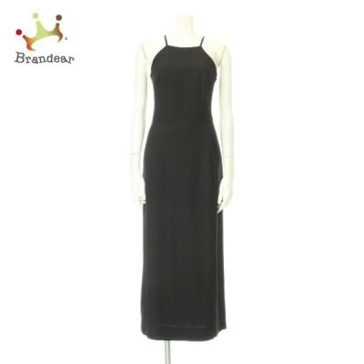 キャロル CAROLL ドレス レディース 新品未使用 ブラック系 ロングドレス ポリエステル100%  スペシャル特価 20201018
