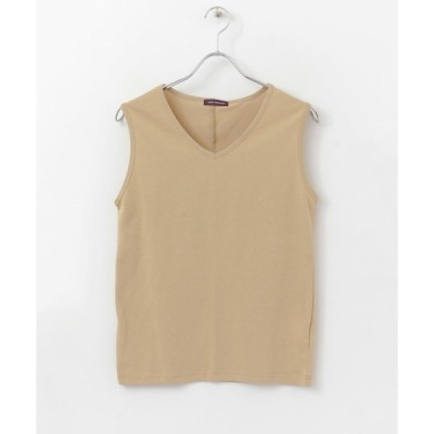 tシャツ Tシャツ Feel Cool UV Cut ノースリーブTシャツ∴
