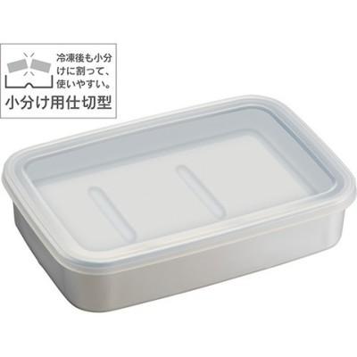 アルミ急速冷凍保存容器L 1200ml ナチュラル AKH4 (1コ入)