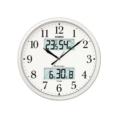 カシオ CASIO インテリアクロック 電波 壁掛け時計 ITM-660NJ-8JF 国内正規 ホワイト