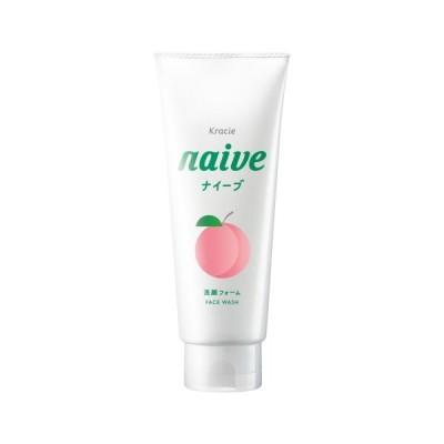 クラシエ(Kracie) ナイーブ (naive) 洗顔フォーム 桃の葉エキス配合 (130g)
