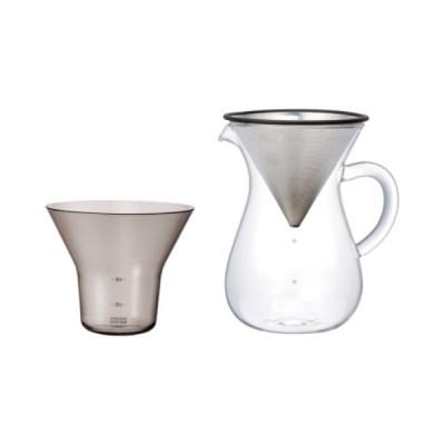 SLOW COFFEE STYLE コーヒーカラフェセット ステンレス 600ml おしゃれ シンプル