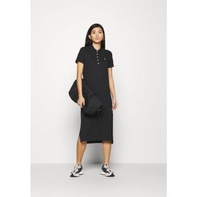ガント レディース ファッション POLO DRESS - Day dress - black