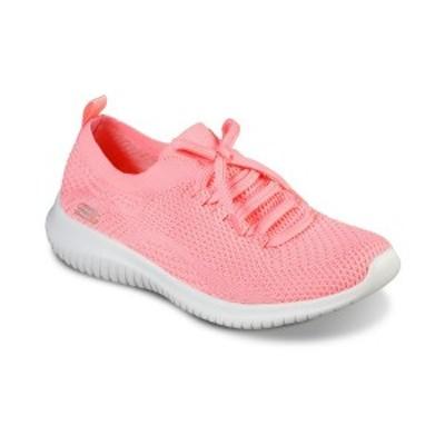 スケッチャーズ レディース スニーカー シューズ Women's Ultra Flex Statements Walking Sneakers from Finish Line CORAL