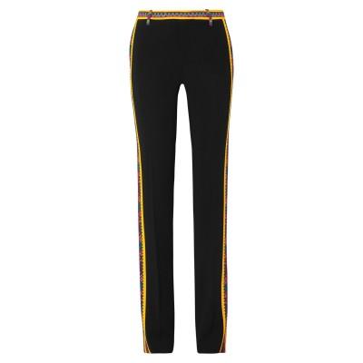 エトロ ETRO パンツ ブラック 42 レーヨン 96% / ポリウレタン 4% パンツ