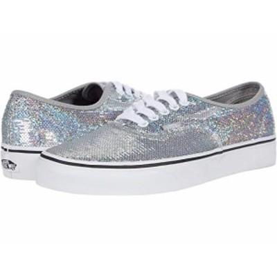 (取寄)バンズVans Authentic (Micro Sequins) Silver/True White