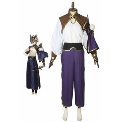 Fate/Grand Order FGO フェイト 蘭陵王 セイバー 初期段階 コスプレ衣装[4343]