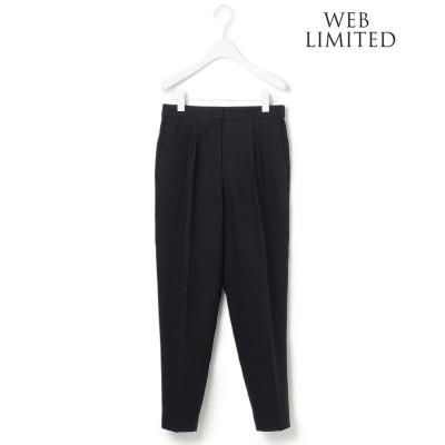ICB 【WEB限定】 Fine Weave パンツ (ブラック系)