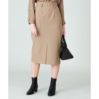 スカート ベイカーポケットタイトスカート