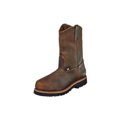 ウエスタン カウボーイ ブーツ シューズ 靴 ソログッド Thorogood Work ブーツ メンズ Wellington スチール Toe 11 2E ブラウン 804-3310