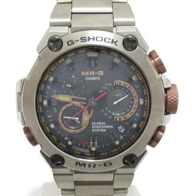 カシオ G-SHOCK MRG ウォッチ 腕時計 シルバー チタン MRG-G1000DC ランクA