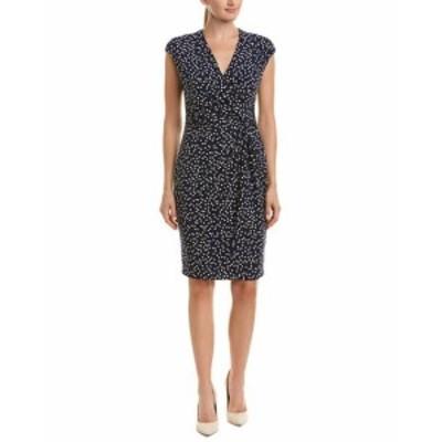 Anne Klein アンクライン ファッション ドレス Anne Klein Sheath Dress L Blue