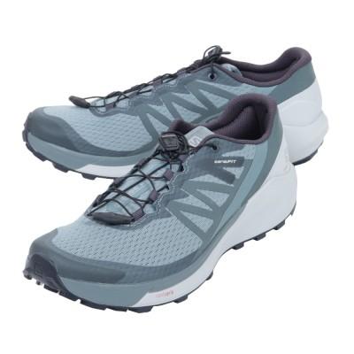 サロモントレッキングシューズ ローカット 登山靴 SENSE RIDE 4 L41299700オリーブ26.5