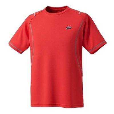 【P2倍+10%OFFクーポン】 プリンス ユニセックス テニスウェア ゲームシャツ WU9026 015
