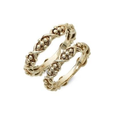 ゴールド 婚約指輪 結婚指輪 エンゲージリング ペアリング ペア プレゼント アンボニー 送料無料