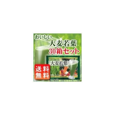 おいしい大麦若葉(3g×30袋入)×30箱(青汁) 1ケース