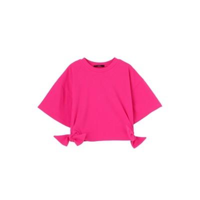 EMODA ミニオープンスリーブTシャツ(ピンク)