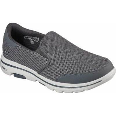 スケッチャーズ メンズ スニーカー シューズ Men's Skechers GOwalk 5 Beeline Sneaker Gray