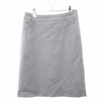 【中古】ノーリーズ Nolley's スカート 台形 ミニ 無地 38 青 ブルー /MO レディース