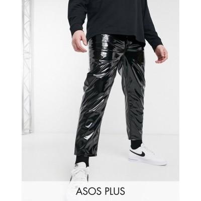 エイソス ASOS DESIGN メンズ ジーンズ・デニム ボトムス・パンツ plus classic rigid jeans in black PU ブラック