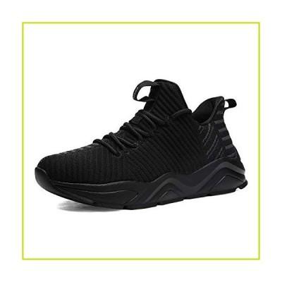 DREAM PAIRS Women's Black Breathable Sneakers Lightweight Tennis Walking Shoes Size 9 M US RUNSOFT-2【並行輸入品】