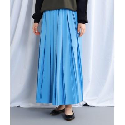 WORLD ONLINE STORE SELECT / 【ウォッシャブル】ウエストゴムプリーツロングスカート WOMEN スカート > スカート