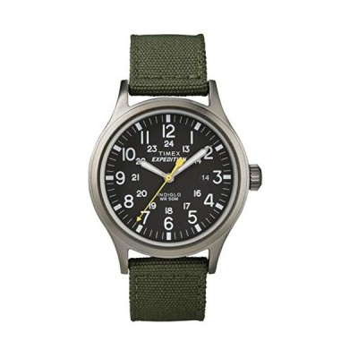 Timex Expedition Scout Black Dial Green Nylon Strap Gents Watch T49961