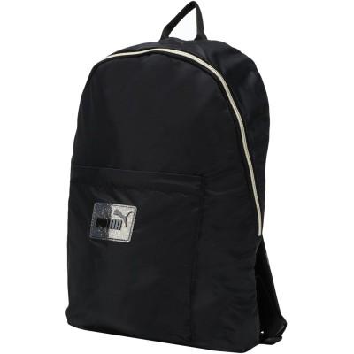 プーマ PUMA バックパック&ヒップバッグ ブラック ポリエステル 100% バックパック&ヒップバッグ