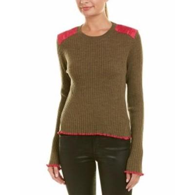 rag & bone ラグ&ボーン ファッション トップス Rag & Bone Rowan Wool-Blend Sweater M Green