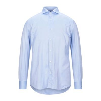 XACUS シャツ スカイブルー 39 コットン 100% シャツ