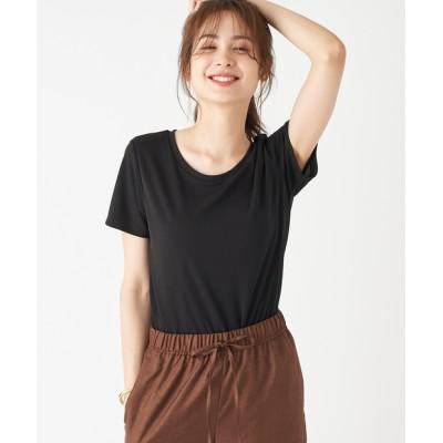 【手洗い可】ドライスムースクルーTシャツ