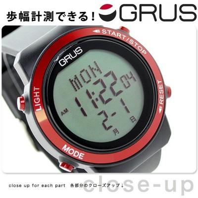 【25日は+14倍でポイント最大29倍】 グルス ウォーキングウォッチ ユニセックス 腕時計 GRS001-01