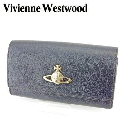 ヴィヴィアン ウエストウッド がま口 財布 長財布 オーブ Vivienne Westwood 中古