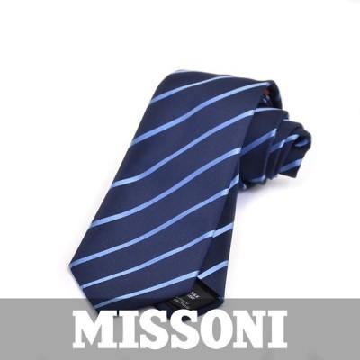 ミッソーニ ネクタイ MISSONI ブルー 5953 1
