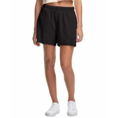 チャンピオン レディース ハーフパンツ・ショーツ ボトムス Women's High-Rise Boyfriend Shorts Vintage Dye Black