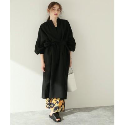【ジャーナルスタンダード】 BIG SHIRTS DRESS:ワンピース レディース ブラック M JOURNAL STANDARD