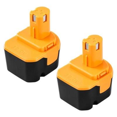 リョービ b-1203m1 12v 3.0Ah B-1203F2 B-1203M1リョービ互換バッテリー ニッケル水素電池 2個セット