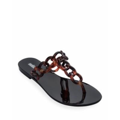 メリッサシューズ レディース サンダル シューズ Big Chain Ombre Thong Sandals TORTOISE