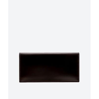 <GANZO(Men)/ガンゾ> コードバン小銭入れ付長財布 56チョコ【三越伊勢丹/公式】