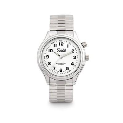 Speidel Mens El Lights Expansion Timepiece in Silver Tone 並行輸入品