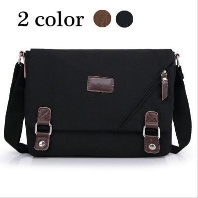 ショルダーバッグ メンズ 鞄 大容量 ワンショルダーバッグ キャンバス ミリタリー 人気 ボディーバッグ A4 カジュアル 黒 通勤 通学 GZ-ZDQ-1012