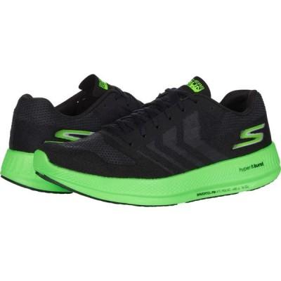 スケッチャーズ SKECHERS メンズ ランニング・ウォーキング シューズ・靴 Go Run Razor 3+ Black/Green