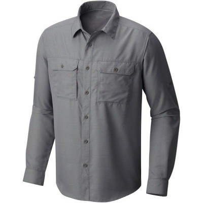 マウンテンハードウェア シャツ メンズ トップス Canyon Long-Sleeve Shirt MANGRE