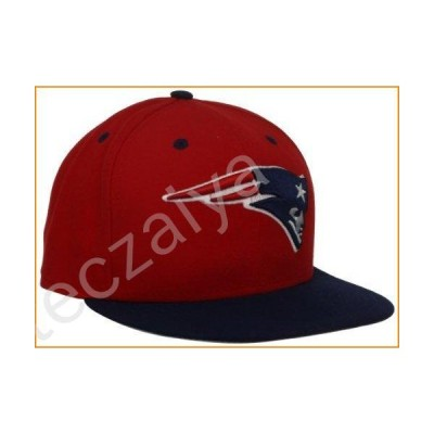 NFL New England Patriots Two Tone 59Fifty Fitted Cap, Red/Blue, 7 1/4並行輸入品
